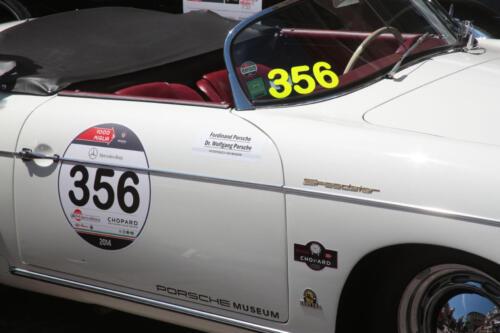 Mille Miglia 2014 in Brescia Italien